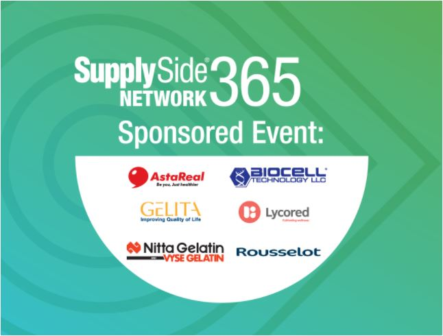 Join Us at the SupplySide Network 365 Nutricosmetics Summit